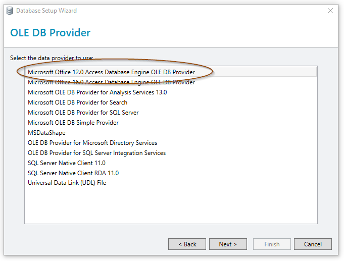 Connect to a DBF database file – BarTender Support Portal