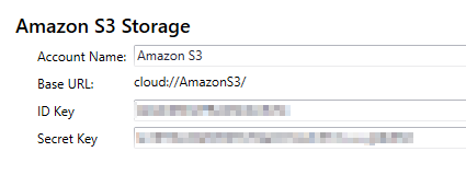 How to work with Amazon AWS S3 as a cloud storage location with file