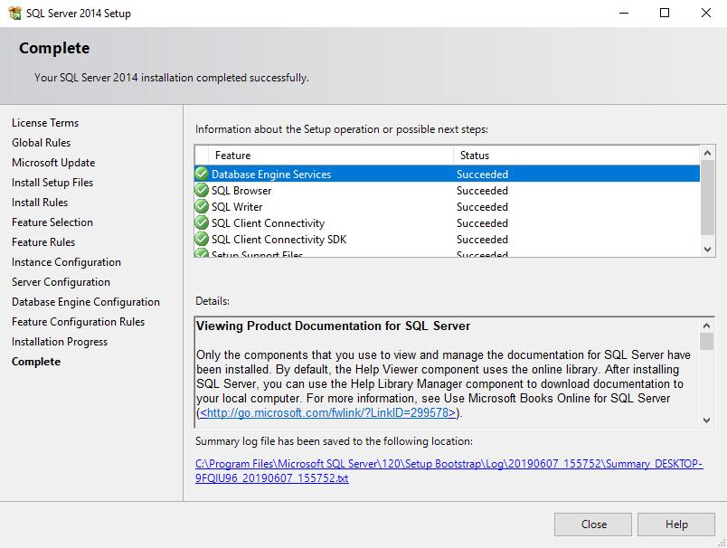 Install BarTender SQL Server Express Manually – BarTender